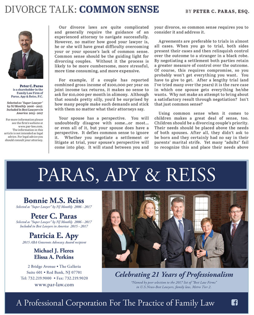 Common Sense | Paras Apy & Reiss